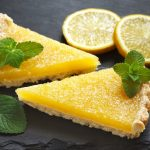 Lemon tart: the recipe without butter