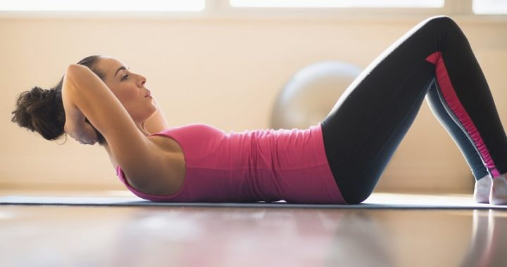 6 exercises to get fit at home easily
