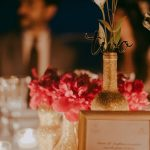 glittery wedding