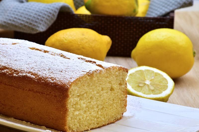 Lemon plumcake: a perfect idea for the summer!
