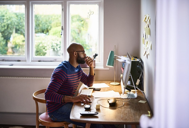teleworking at home in times of corona virus