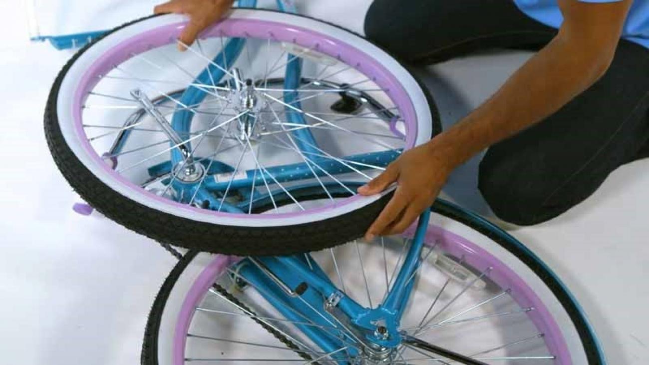 Assemble Huffy Single Speed Cruiser Bike