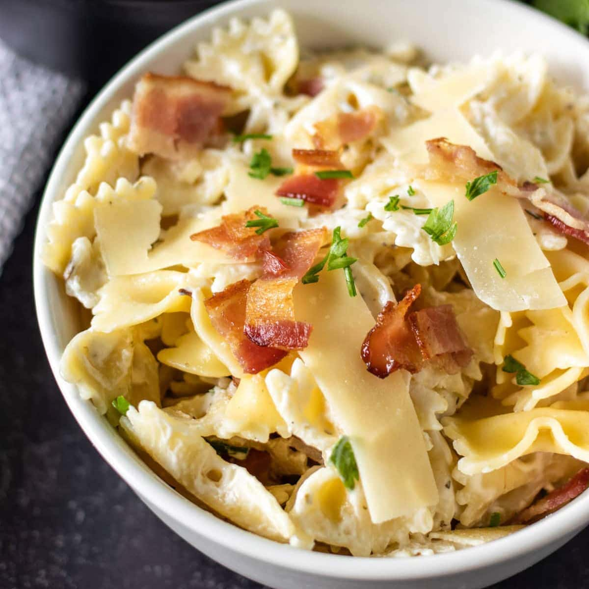 How to cook bowtie pasta in the microwave