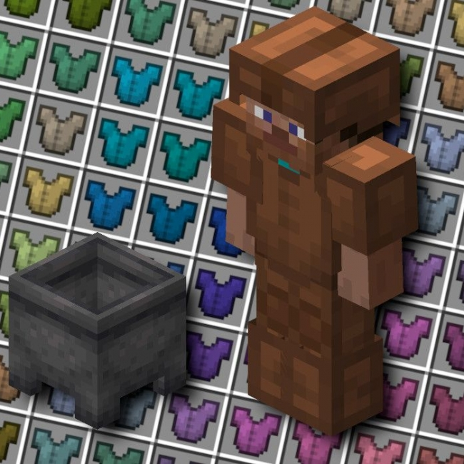 how to make an armor in minecraft